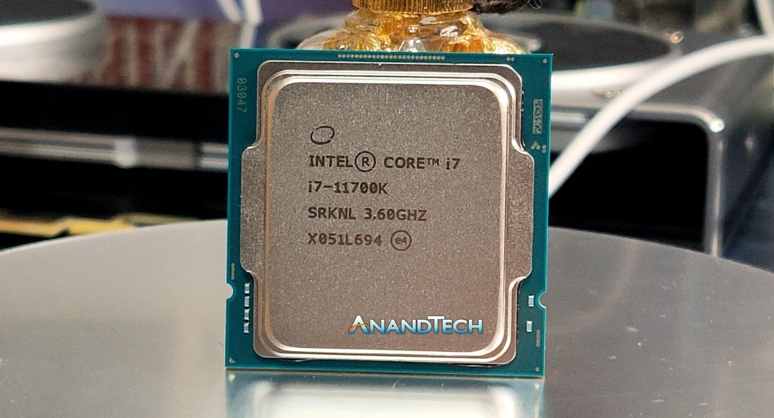 Review completa de un Intel Core i7-11700K vendido antes de tiempo