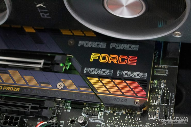 MSI MPG Z590 Gaming Force - Equipo de pruebas 4