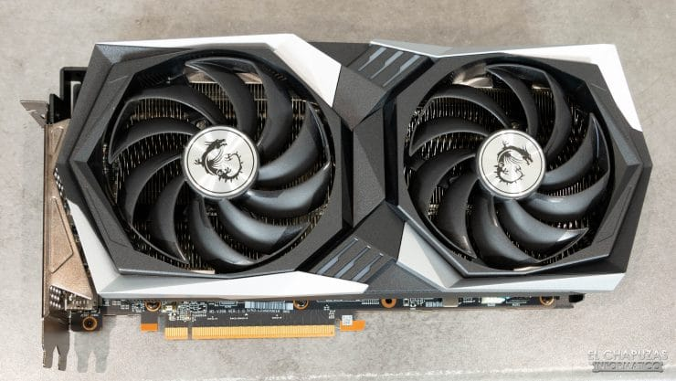 MSI Radeon RX 6700 XT Gaming X - Vista frontal