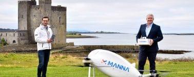 Samsung entregará sus dispositivos móviles en Irlanda por medio de un dron