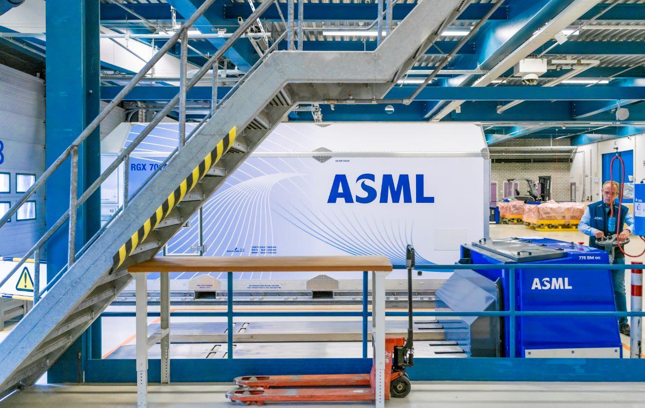 ASML ganó 5.200 millones de euros en el Q3 2021, un 30% más que en el Q2