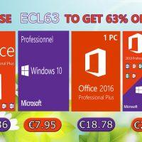 Cierra la semana con tu licencia de Windows 10 desde 5,39€ o Antivirus desde 8€