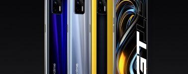 Realme GT: 6.43″ @ 120 Hz, Snapdragon 888 y 4500 mAh por 360 euros