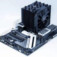 Scythe Mugen 5 Black Edition: Disipador CPU completamente negro y sin iluminación RGB