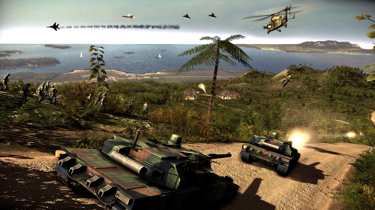 Descarga gratis el Wargame: Red Dragon y el Gravewood High desde la Epic Games Store