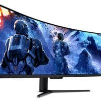 Acer EI491CRG9: Panel Mini LED de 49″ curvo 5K @ 240 Hz con 2000 nits