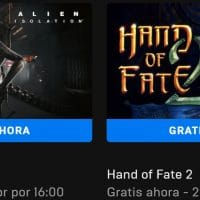 Descarga gratis el Alien: Isolation y Hand of Fate 2 desde la Epic Games Store