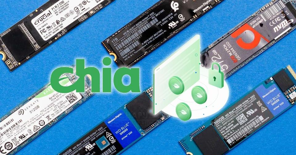 Los fabricantes de SSDs en Taiwán están vendiendo su stock directamente a las granjas de ChiaCoin