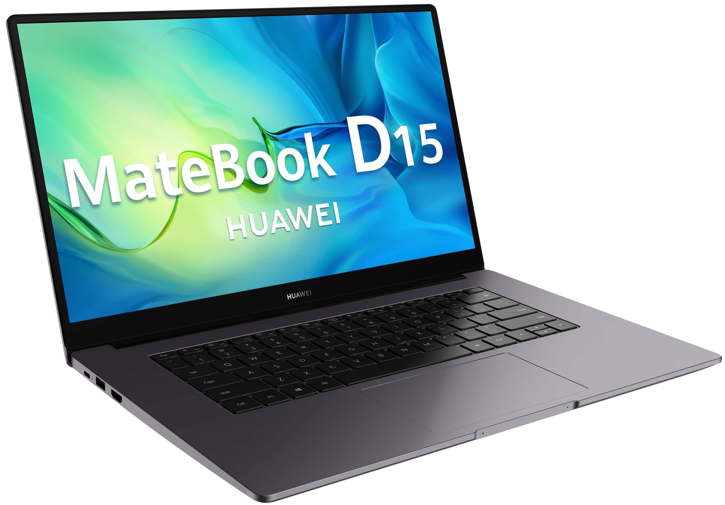 Huawei MateBook D 15 2021: 15,6″ con procesador Intel Tiger Lake y un precio fuera de lugar