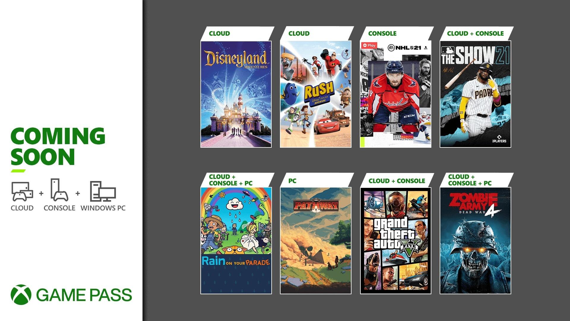Grand Theft Auto V es uno de los juegos que llegarán al Xbox Game Pass el 8 de Abril