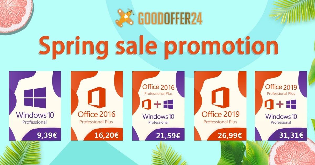 Llévate Windows 10 LTSC por 8 euros o Windows 10 + Office 2016 por 21 euros