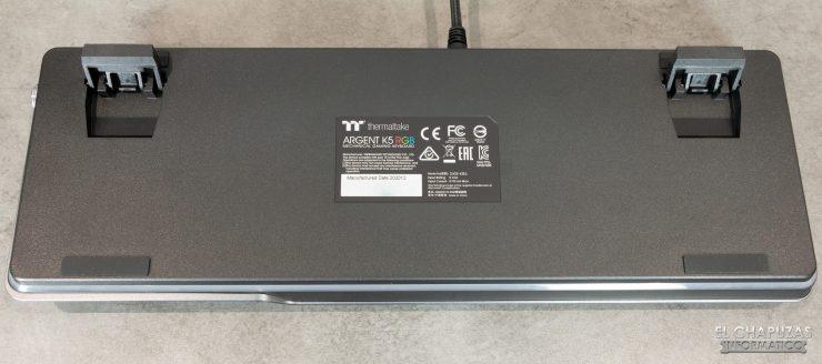 Thermaltake Argent K5 RGB - Base