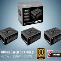 Thermaltake lanza sus fuentes de alimentación Toughpower SFX Gold de hasta 650W de potencia