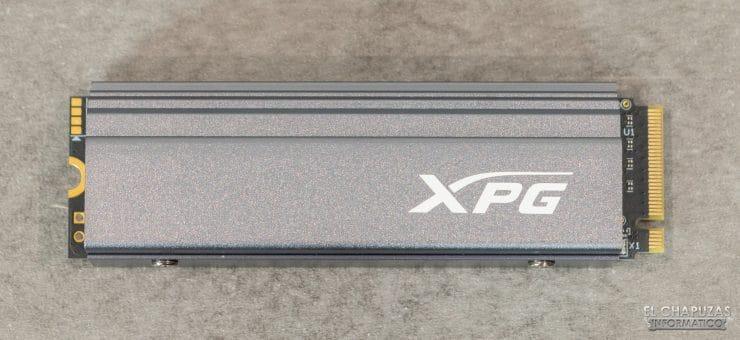 XPG Gammix S70 - Vista frontal