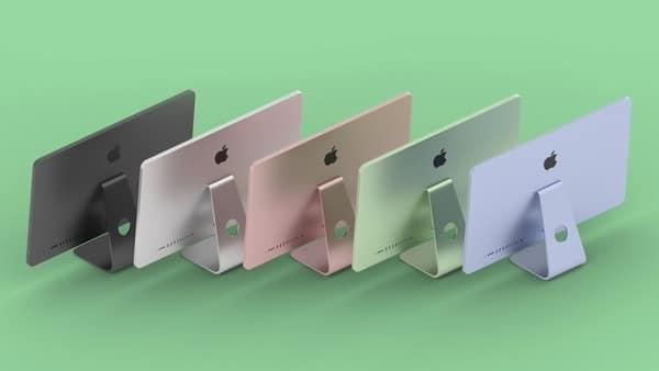 El 20 de Abril Apple lanzaría sus nuevos iMac con CPUs Apple M1 en gran variedad de colores