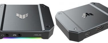 Asus se lanza al mercado de las capturadoras RGB con su TUF Gaming Capture Box CU4K30