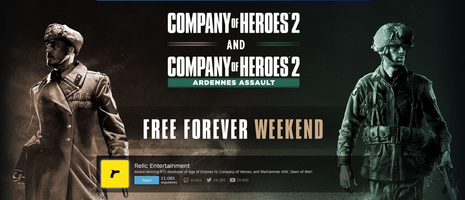 Salva el día descargando el Company of Heroes 2 gratis desde Steam