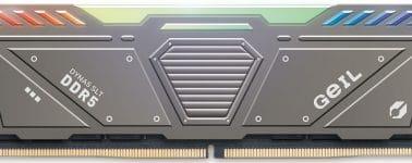 GeIL ya tiene sus memorias Polaris RGB DDR5 @ 4800 CL40 y adelanta que ofrecerá hasta 7200 MHz CL36