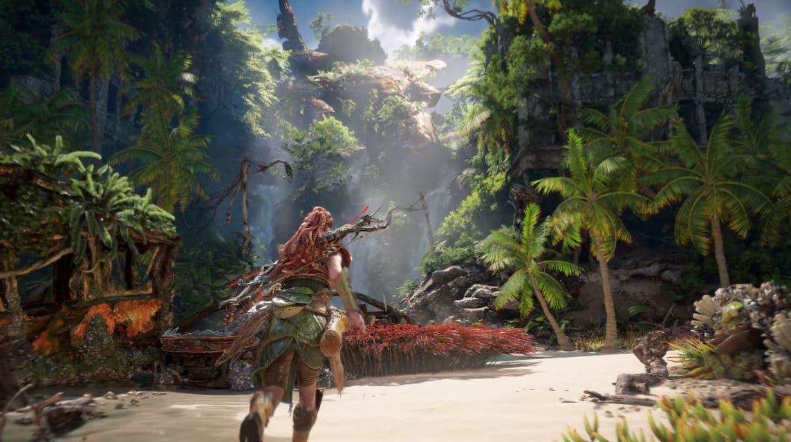 Horizon Forbidden West se deja ver en un extenso gameplay para PlayStation 5