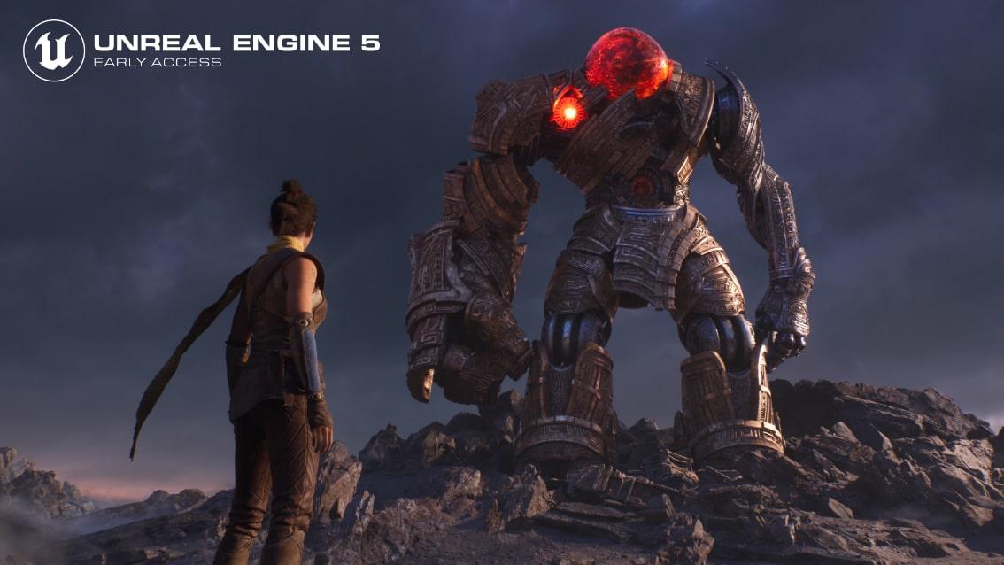 El Unreal Engine 5 ha sido completamente optimizado para compilar con CPUs AMD Ryzen Threadripper