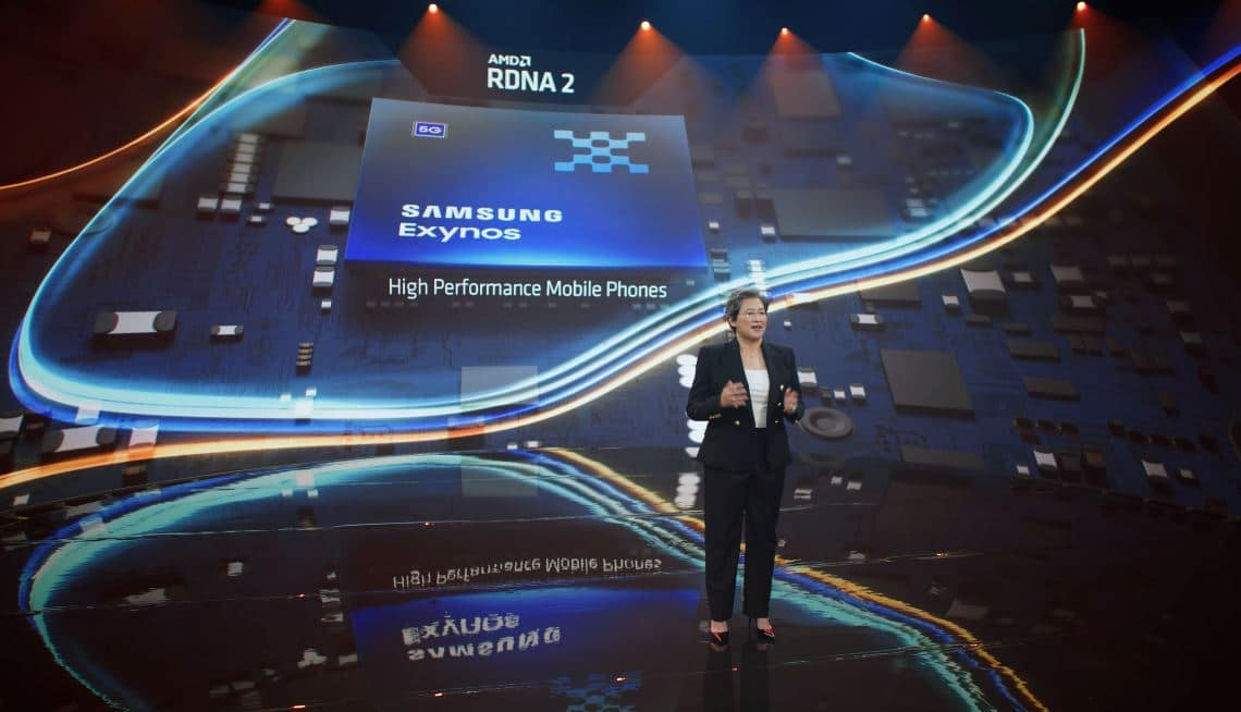 AMD adelanta que el SoC Samsung Exynos integrará gráficos RDNA2 con RayTracing