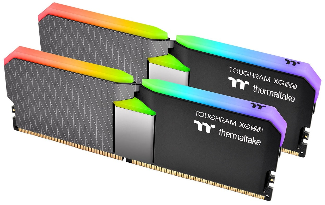 Thermaltake lanza sus memorias ToughRAM XG RGB de hasta 64 GB @ 4000 MHz