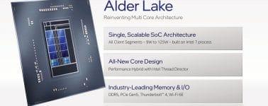 El Intel Core i9-12900K aparece en CPU-Z: Un 27,3% más rápido que el Ryzen 9 5950X en mononúcleo