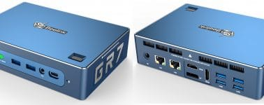 Beelink GTR: Mini-PC con CPU AMD Ryzen 7 3750H y lector de huellas