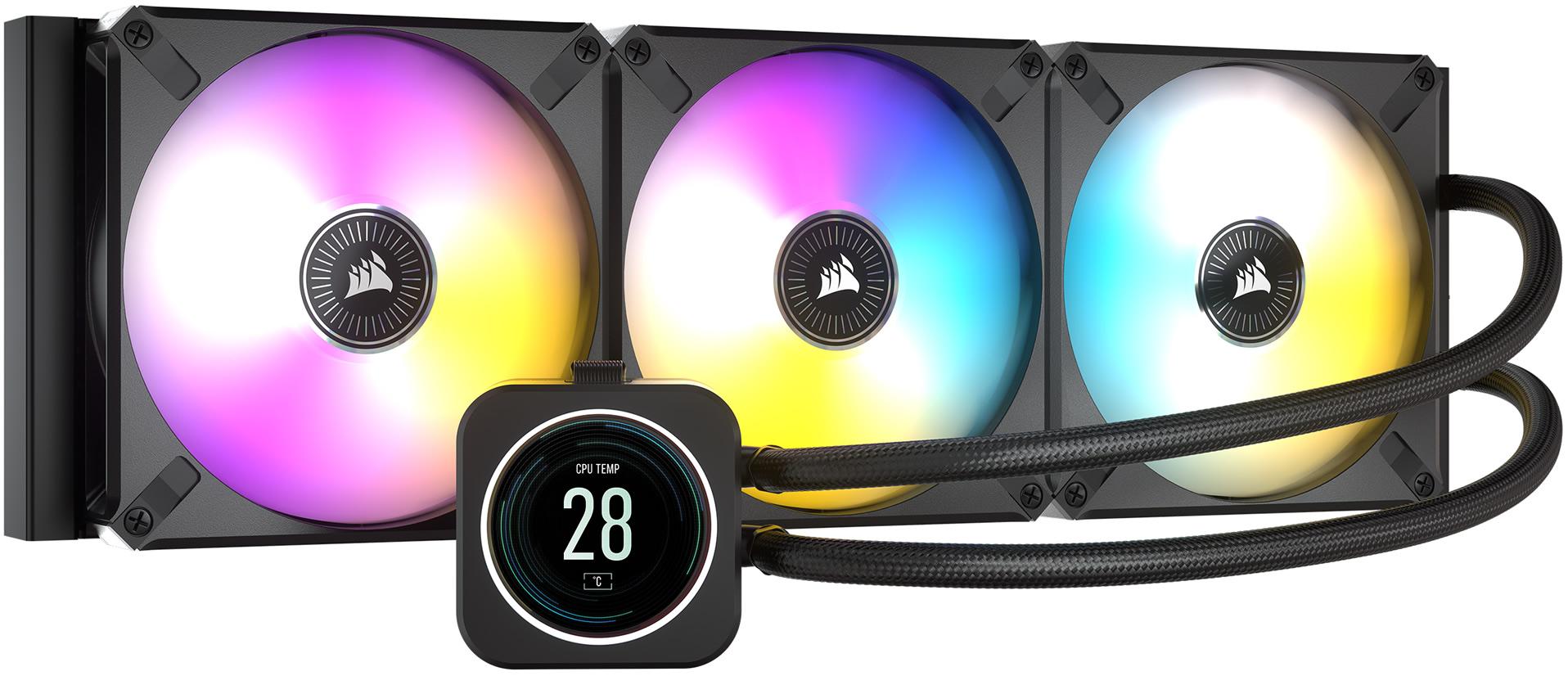 Corsair iCUE ELITE LCD: Líquida con pantalla IPS de 2,1 pulgadas