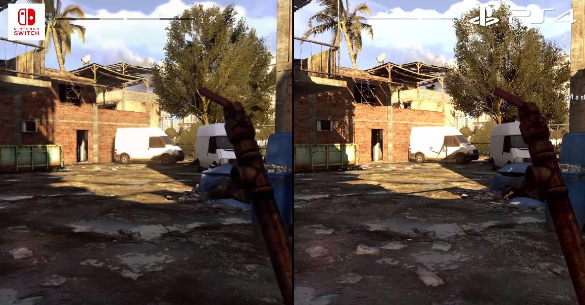 Así luce el port de Dying Light para Nintendo Switch: 720p @ 30-36 FPS