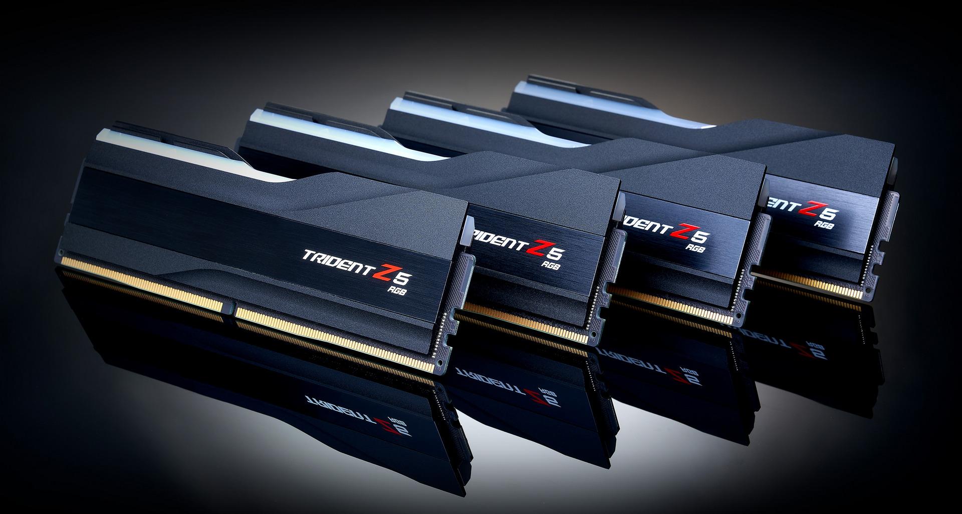 Las G.Skill Trident Z5 son las memorias DDR5 más rápidas del mundo con sus 6600 MHz CL36