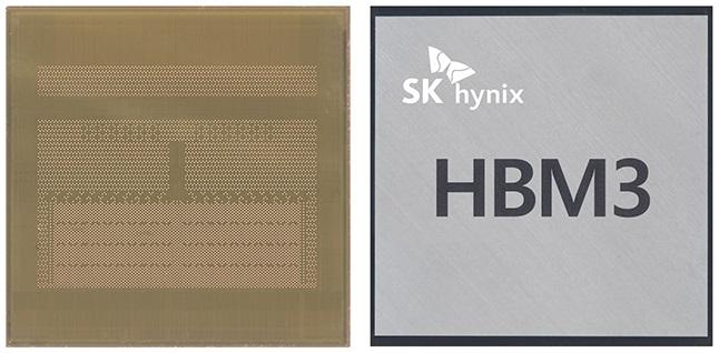 SK Hynix anuncia su memoria HBM3: Un 78% más rápida que la HBM2E