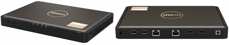 QNAP TBS-464 NASbook: NAS de tamaño reducido para SSDs NVMe